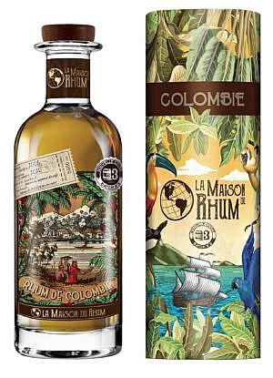Fles - Rum - La Maison du Rhum Columbie 2008