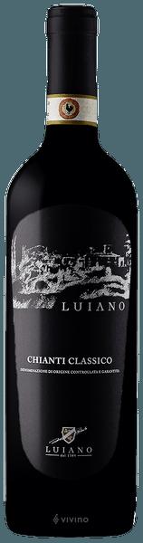 Fles - Wijnen - Italië -Luiano - Chianti Classico - 13% - 0,75l