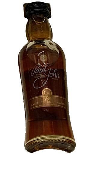 Fles- Miniature - Whisky - Paul John - Pedro Ximenez Select Cask - 48% - 0,05l