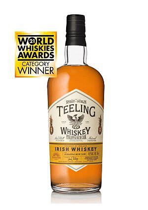 Fles - Whisky - Teeling - Plantation Pineapple Rum Cask - 0,7l - 49,2%