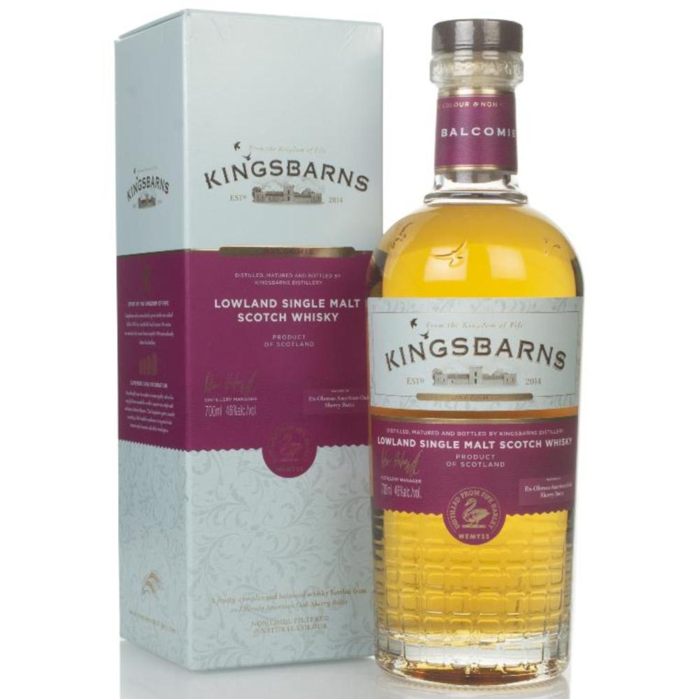 Fles - whisky - Kingsbarns Balcomie - 0,7l -