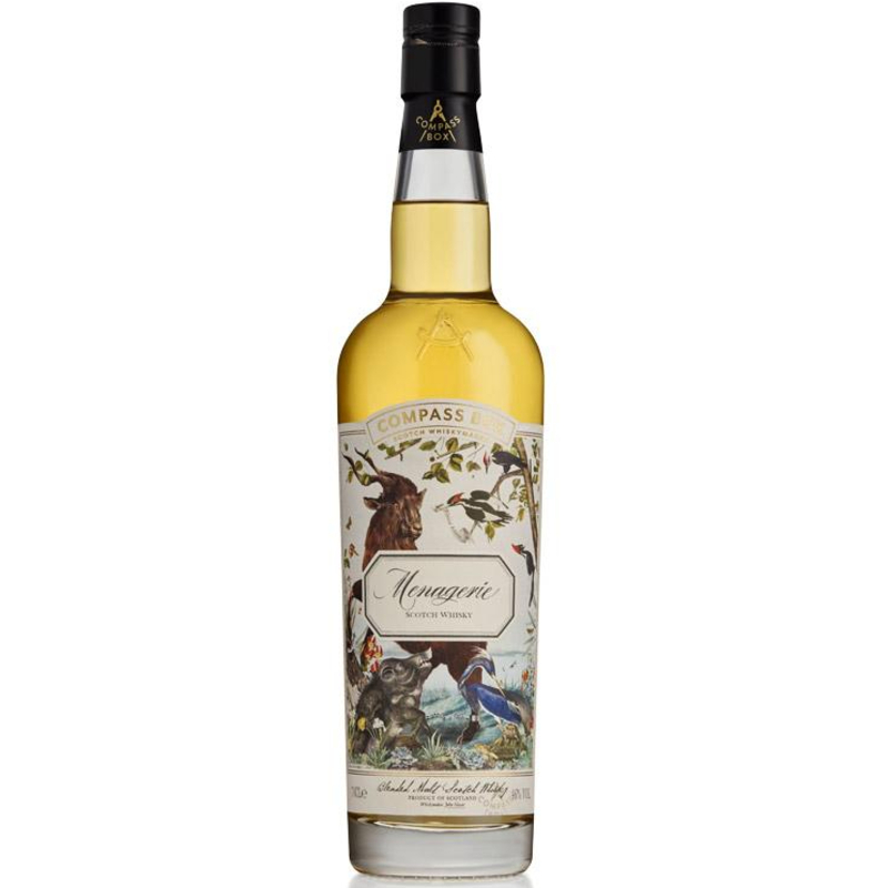 Fles - Whisky - Compass Box - Menagerie - 0,7l - 46%