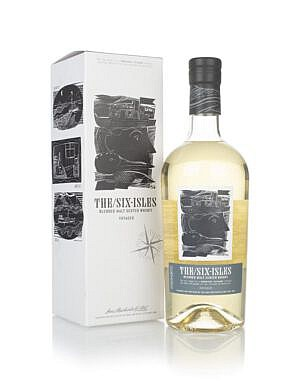 Fles - whisky - The Six Isles Voyager
