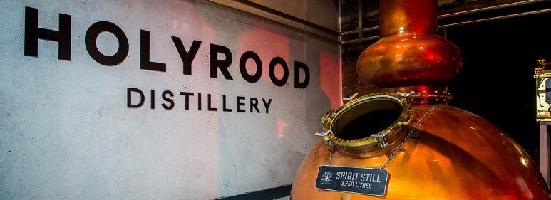 Holyrood distillery - vat kopen whisky