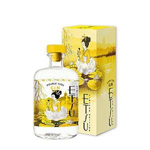 Etsu Gin Double Yuzu - met verpakking
