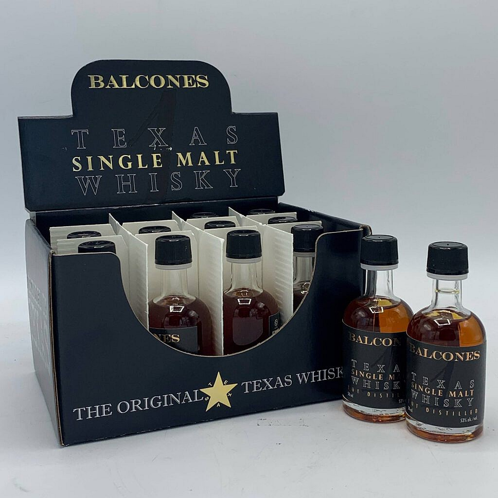Whisky Balcones Texas Single Malt Miniatures