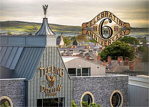 Teeling viert zes jaar whisky-vakmanschap in Dublin