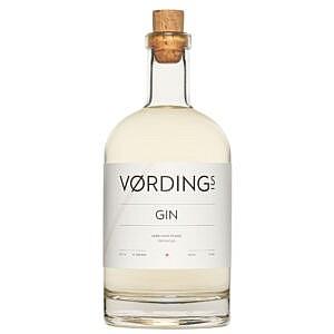 Vording's-Gin-70cl - voorkant v_d fles