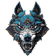 Brewdog Lonewolf Gin & Tin - Lonewolf Logo Gin